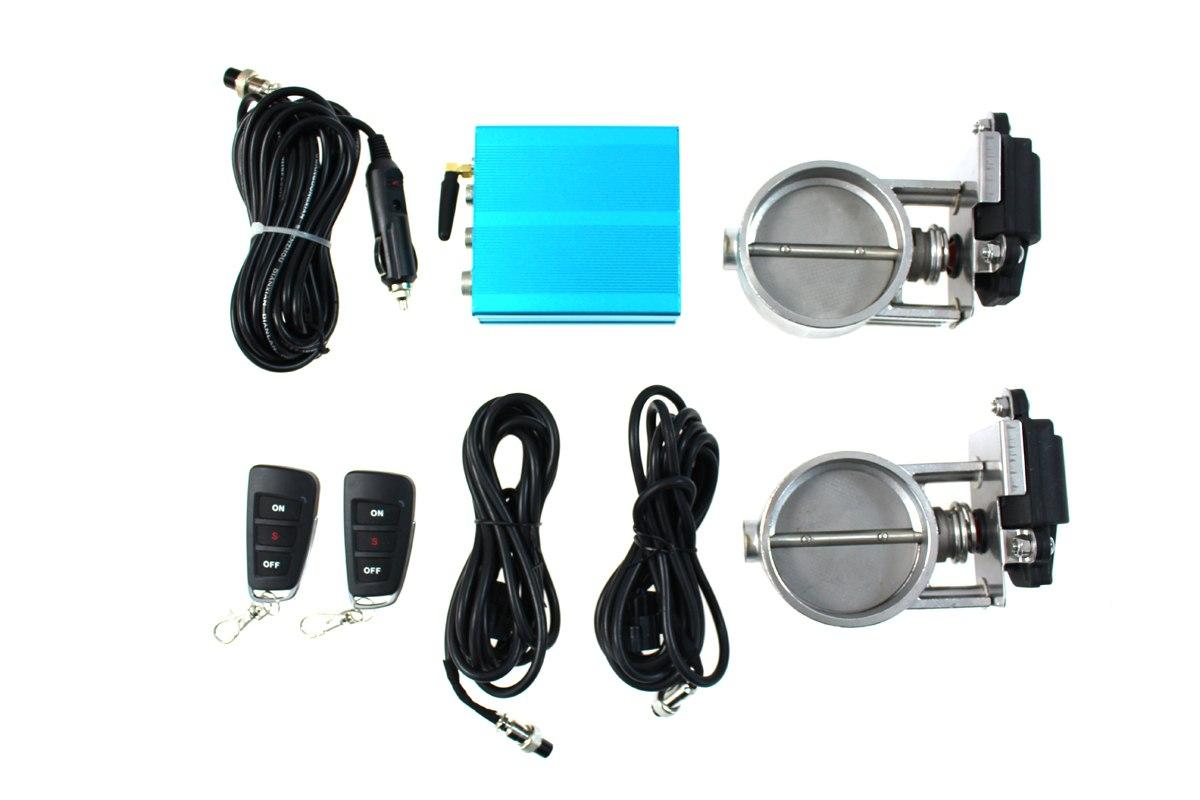 Zestaw przepustnicy wydechu elektryczny PRO 57mm Dual - GRUBYGARAGE - Sklep Tuningowy